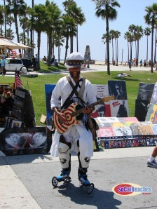 Rollerblade dude showing his stuff!